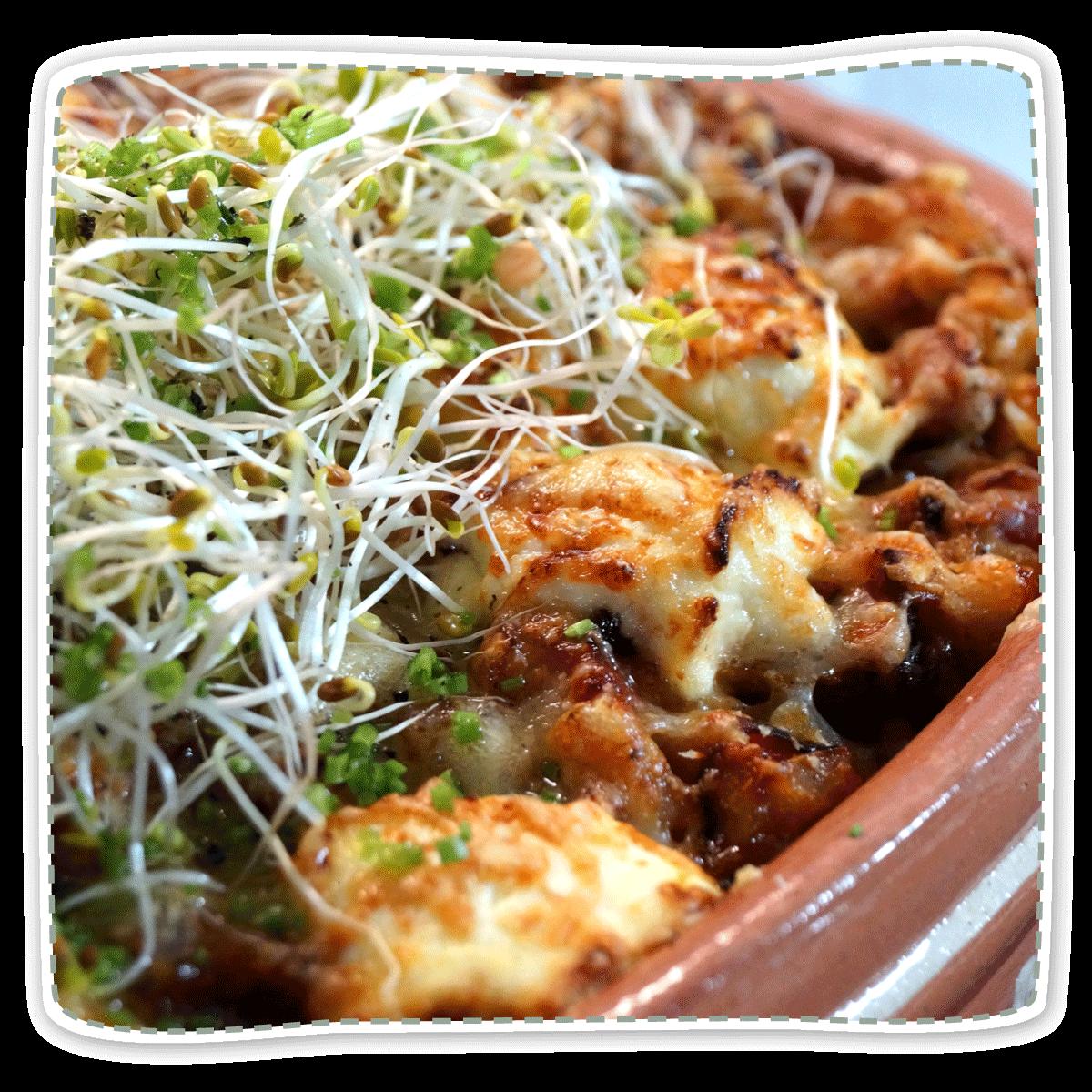 Tofu‐Lasagne