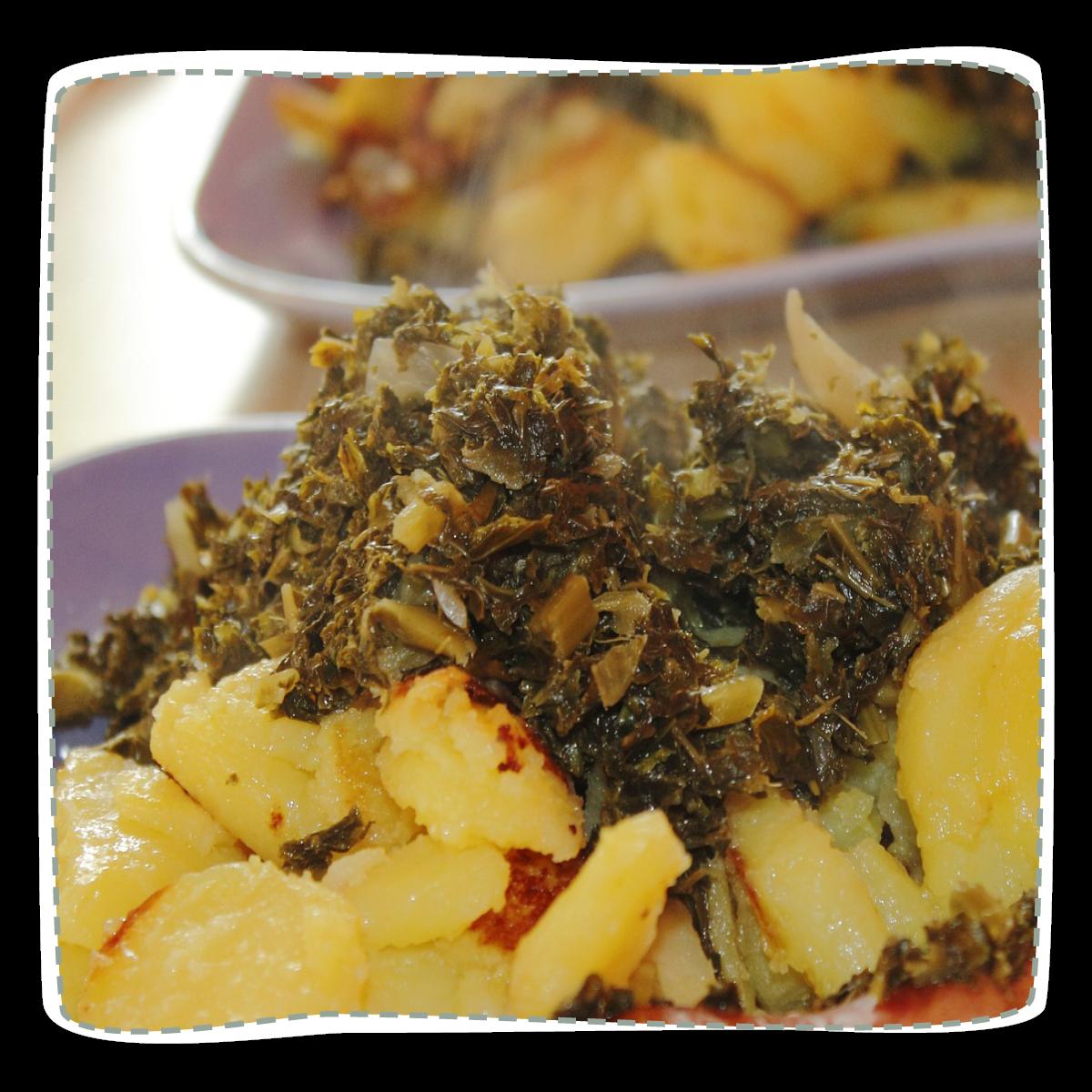Grünkohl mit Curry